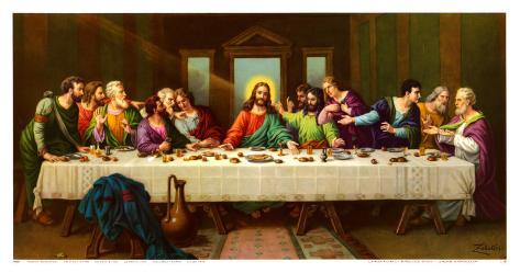 Heiliges Abendmahl Art Print