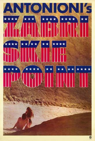 Zabriskie Point Poster