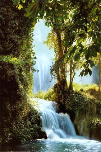 Zaragoza Falls Poster