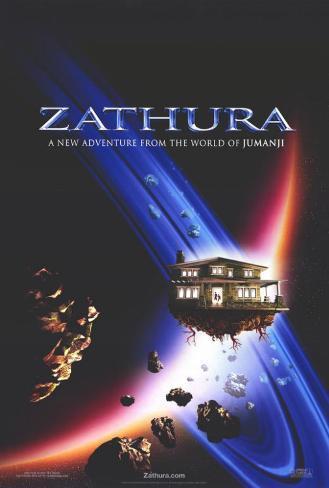 Zathura - ett rymdäventyr Masterprint