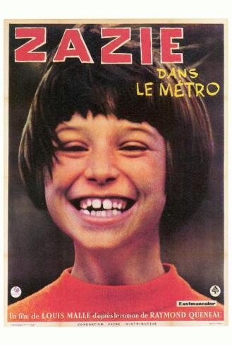Zazie dans le Metro - Foreign Style Poster