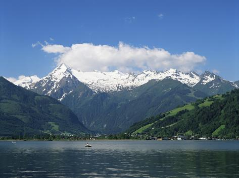 Zeller See, Salzburgerland, Austria Photographic Print