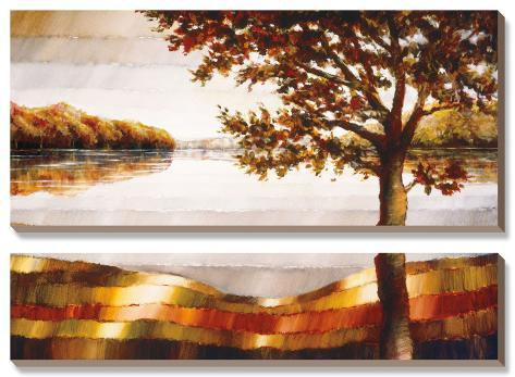 Lake Mamry Canvas Art Set