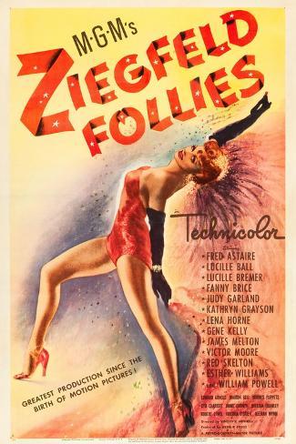 Ziegfeld Follies, 1946 Konstprint