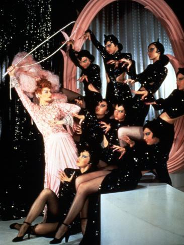 Ziegfeld Follies, Lucille Ball, 1946, Cat Tamer Stretched Canvas Print