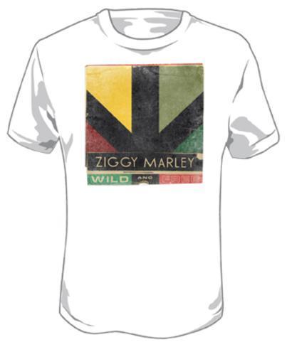 Ziggy Marley - Wild And Free Logo T-Shirt