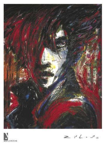 Vampire Voodoo Framed Art Print