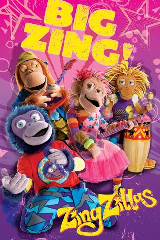Zingzillas - Big Zing Poster