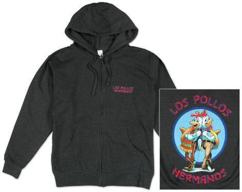Zip Hoodie: Breaking Bad - Los Pollos Hermano Zip Hoodie