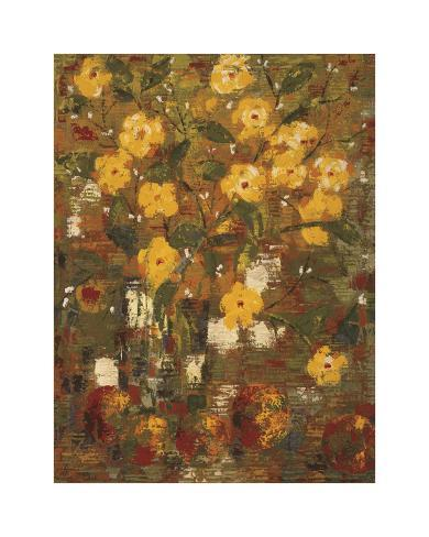 Yellow Bouquet Giclee Print