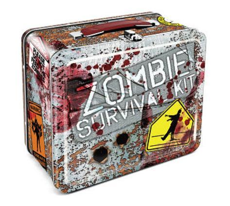 Zombie Survival Kit Metal Lunch Box Lunch Box