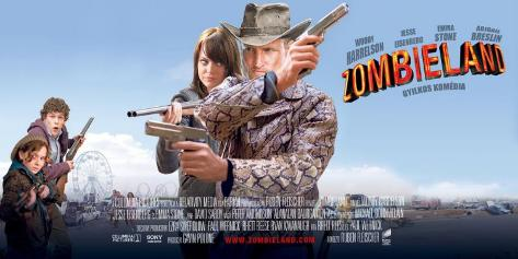 Zombieland - Hungarian Style Poster
