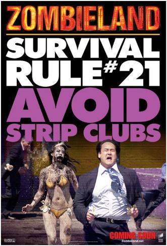 Zombieland Stampa master