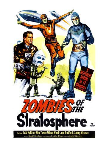 Zombies of the Stratosphere, 1952 Foto
