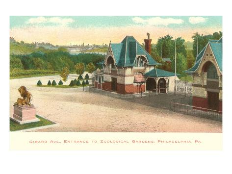 Zoo, Philadelphia, Pennsylvania Art Print