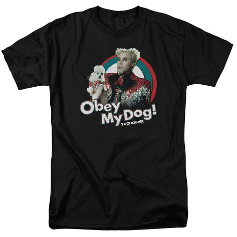 Zoolander - Obey My Dog T-Shirt