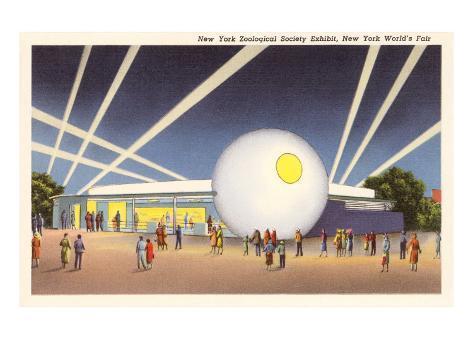 Zoological Building, New York World's Fair, 1939 Art Print