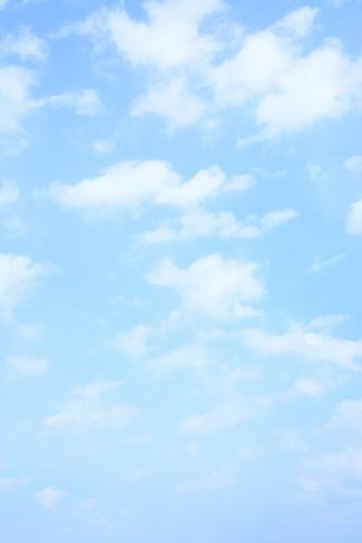 Light Blue Spring Sky With Clouds May Be Used As Background Photographic Print By Zoom At Allposters