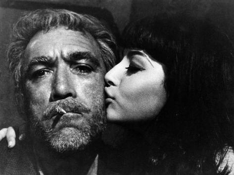 Zorba The Greek, Anthony Quinn, Eleni Anousaki, 1964 Photo