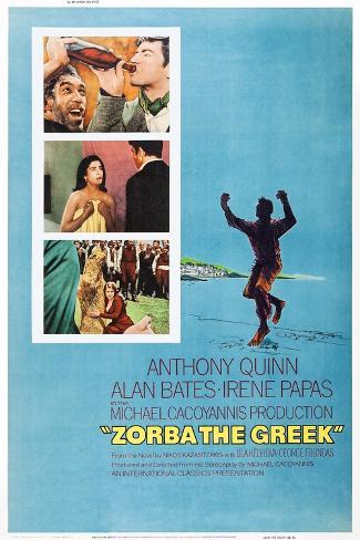 Zorba the Greek Art Print