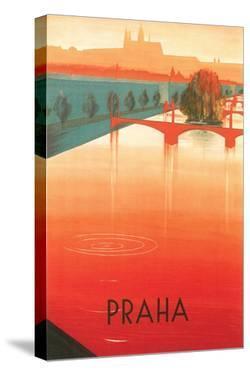 Prague Travel Poster