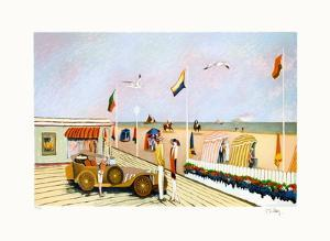 Les planches à Deauville by Ramon Dilley