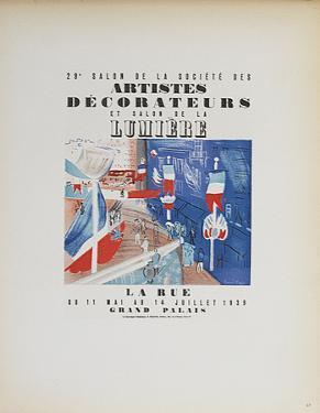 Artistes Decorateurs Salon de la Lumiere by Raoul Dufy