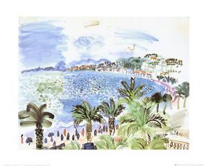 La Promenade des Anglais, c.1928 by Raoul Dufy