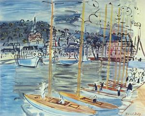 Les Bateaux by Raoul Dufy