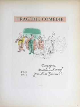 Tragedie, Comedie by Raoul Dufy