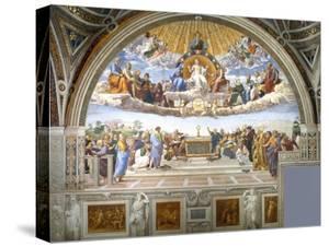Disputation of the Holy Sacrament by Raphael