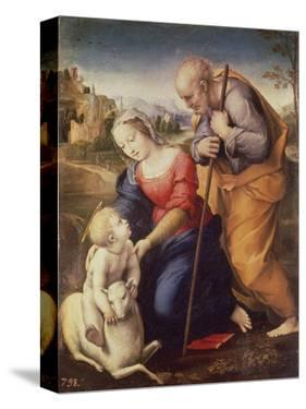 Holy Family with the Lamb by Raphael