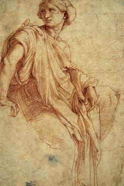 Study for the Phrygian Sibyl, 1511-1512 by Raphael