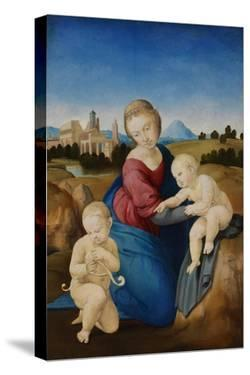 The Madonna and Child with the Infant Baptist (The Esterházy Madonn) by Raphael