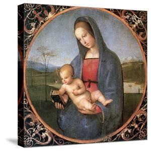 The Madonna Conestabile, 1502-1503 by Raphael