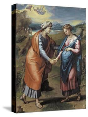 The Visitation, 1517 by Raphael