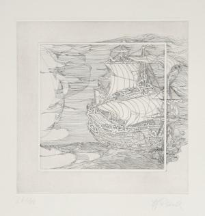 The Galleons Suite - Untitled #2 by Rauch Hans Georg