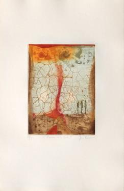 L'homme et le soleil by René Carcan