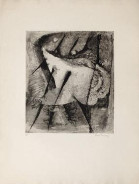 La Danse - French Cancan by René Carcan