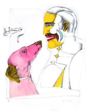 Man'S Best Friend by Richard Lindner