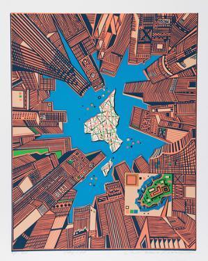 City 378 by Risaburo Kimura