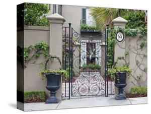 House Entrance, Historic District, Charleston, South Carolina, USA by Rob Tilley
