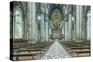 Italy, Milan, Cathedral Duomo di Milano Interior by Rob Tilley