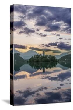 Slovenia, Bled, Lake Bled Dawn by Rob Tilley