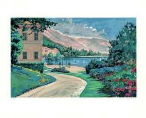 Lake Como Vista by Robert Schaar
