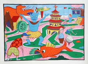 Minigolf by Rodney Alan Greenblat