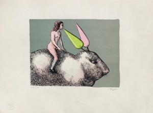 Le lapin by Roland Topor