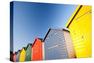 Colourful beach huts, Dawlish Warren, South Devon, UK by Ross Hoddinott