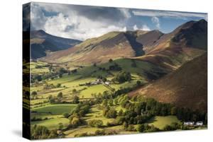 Newlands Valley and Causey Pike, Lake District, Cumbria, UK by Ross Hoddinott