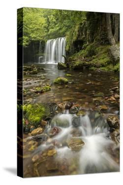 Sgwd Ddwli Uchaf (Upper Gushing Falls) waterfall, Wales by Ross Hoddinott